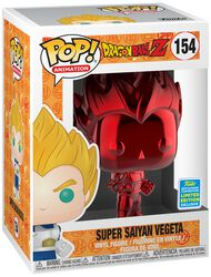 Z- SDCC 2019 - Super Saiyan Vegeta (Red Chrome) Vinyl Figure 154 (figuuri)