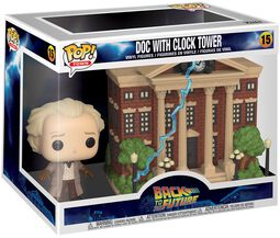 Doc with Clock Tower (Pop! Town) Vinyl Figure 15 (figuuri)