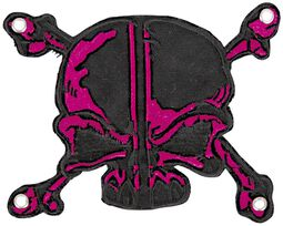 Patch: Pink-Black Skull