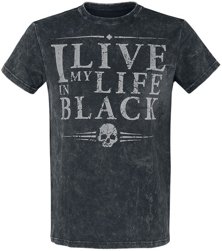 T-Shirt with Statement Print