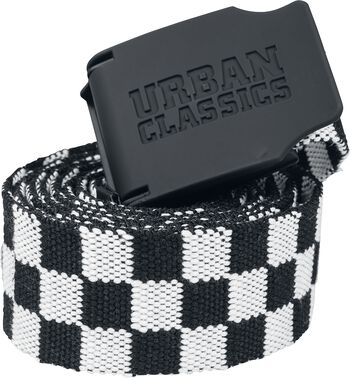 UC Canvas Belt Checkerboard 150cm