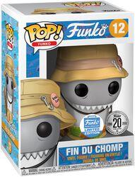 Spastik Plastik - Fin Du Chomp (Funko Shop Europe) Vinyl Figure 12 (figuuri)
