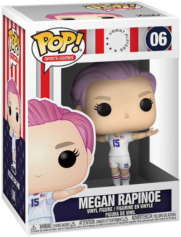 Football US Women's National Team - Megan Rapinoe (Sport Legends) Vinyl Figure 06 (figuuri)