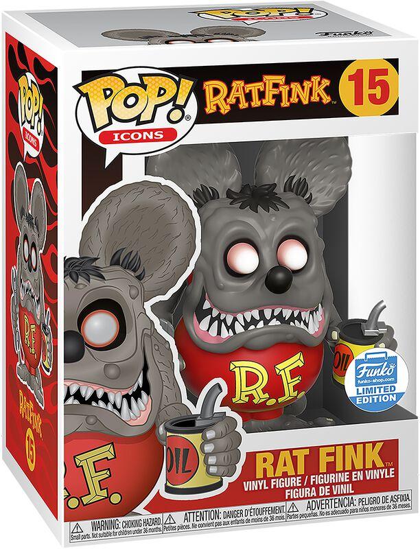 Ad Icons - Rat Fink (Funko Shop Europe) Vinyl Figure 15 (figuuri)