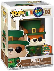 Around the World - Finley (POP and Pin) (Ireland) (Funko Shop Europe) Vinyl Figure 03 (figuuri)