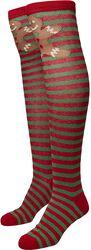 Christmas Overknee Socks sukat