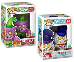 Fantastik Plastik - Flaky and Egor Elf (2 Pack) (Funko Shop Europe) 14+15 (figuuri)