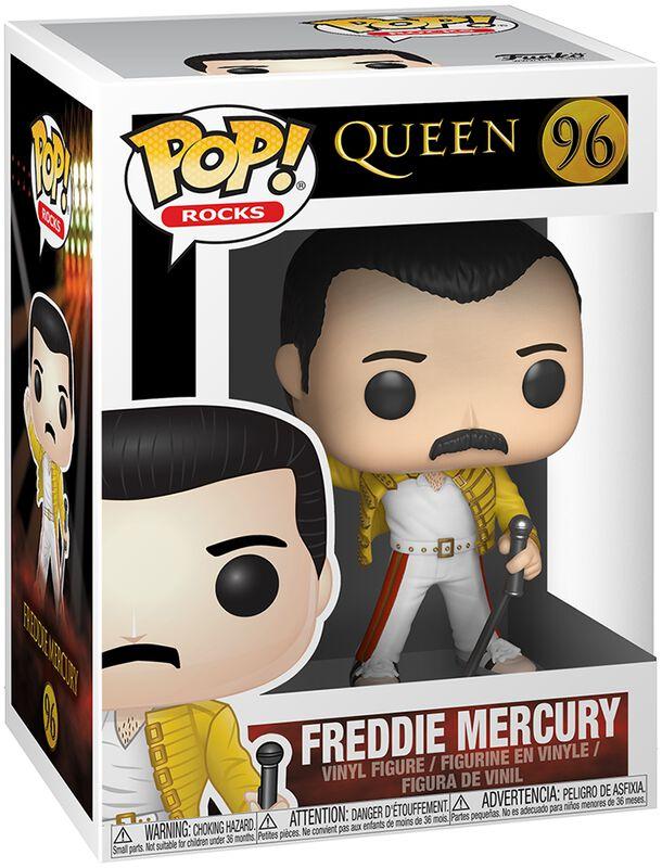 Freddie Mercury (Wembley 1986) Rocks Vinyl Figure 96 (figuuri)