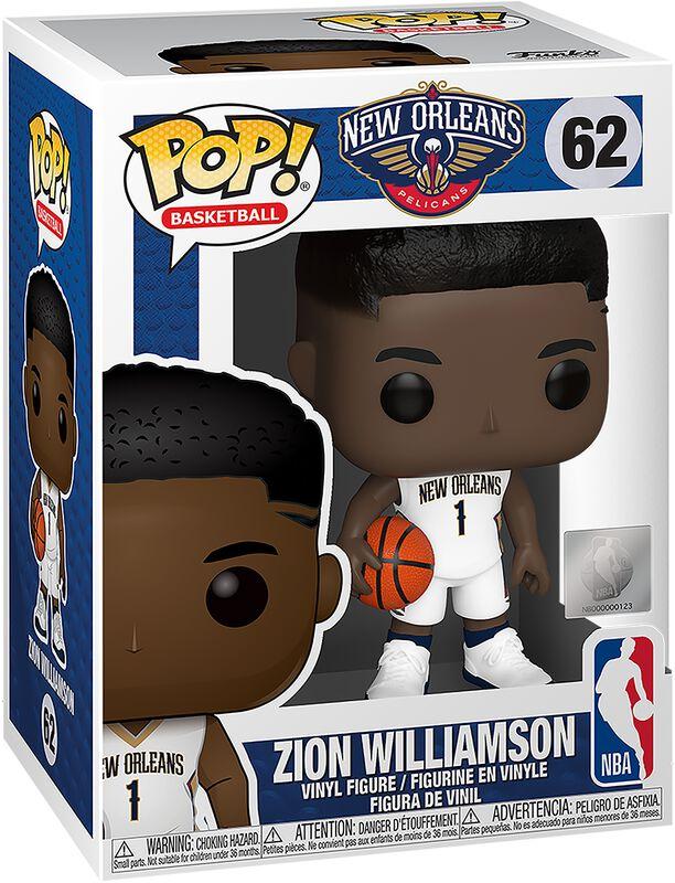 New Orleans Pelicans - Zion Williamson Vinyl Figure 62 (figuuri)