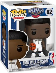 New Orleans Pelicans - Zion Williamson Vinyl Figure 62 (figuuri)