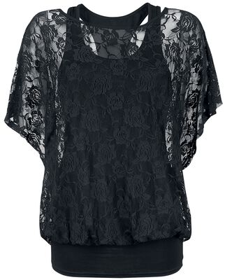 2 in 1 Lace shirt