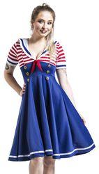 Marine-Style Swing Dress