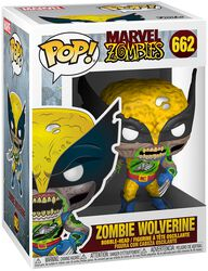 Zombies - Zombie Wolverine Vinyl Figure 662 (figuuri)