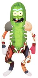 Galactic Plushies: Pickle Rick in Rat Suit (noin 46 cm)