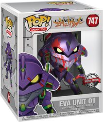 Eva Unit 1 (Oversized) (Metallic) Vinyl Figure 747 (figuuri)