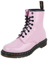 1460 W Pale Pink Patent Lamper 8 Eye Boot maiharit