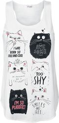 Cute Cat Vest
