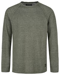 Raglan Roll Edge Knit Relaxed Fit