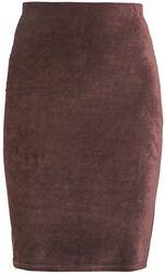 RED Corduroy Skirt