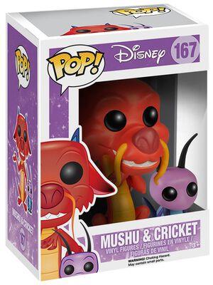 Mushu and Cricket Vinyl Figure 168 (figuuri)