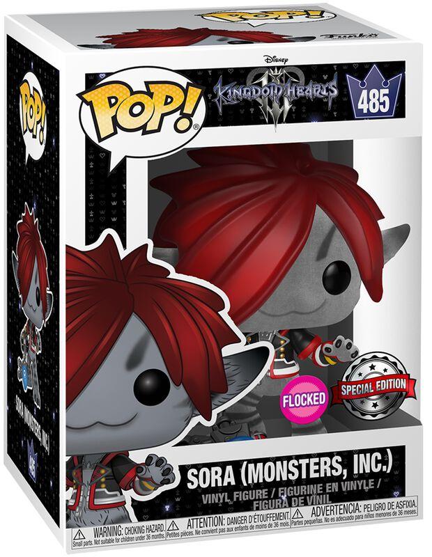 3 - Sora (Monsters, INC.) (Flocked) Vinyl Figure 485 (figuuri)