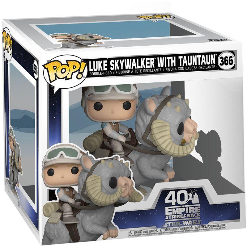 Empire Strikes Back 40th Anniversary - Luke Skywalker With TaunTaun (POP Deluxe) Vinyl Figure 366 (figuuri)