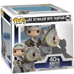 Empire Strikes Back 40th Anniversary - Luke Skywalker With TaunTaun (POP Deluxe) Vinyl Figure 366 (figuuri)