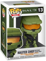 Master Chief with MA40 Assault Rifle Vinyl Figur 13