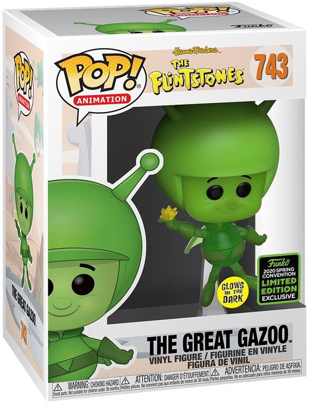 The Flintstones ECCC 2020 - The Great Gazoo (Funko Shop Europe) Vinyl Figure 743 (figuuri)