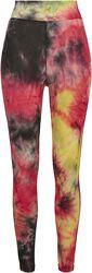 Ladies Tie Dye High Waist Leggings leggingsit