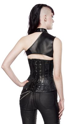 Corset with Shoulder Section
