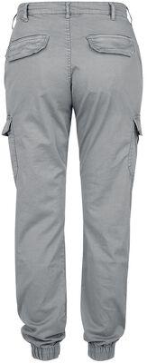 Ladies High Waist Cargo Pants reisitaskuhousut