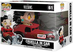 Cruella in Car POP Rides Vinyl Figure 61 (figuuri)
