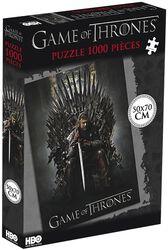 Ned Stark on the Iron Throne (1000 palaa)