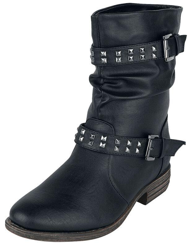 Ladies Biker Boot bootsit