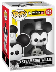 Mickey's 90th Anniversary - Steamboat Willie Vinyl Figure 425 (figuuri)