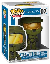 Master Chief With Cortana Vinyl Figure 07 (figuuri)