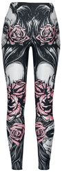 Muerta Roses Leggings