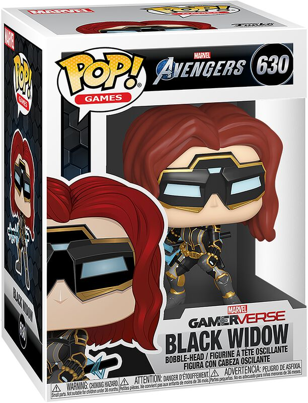 Black Widow (Chase Edition Possible) Vinyl Figure 630 (figuuri)