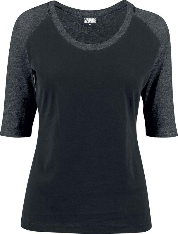 Ladies 3/4 Contrast Raglan Tee T-paita