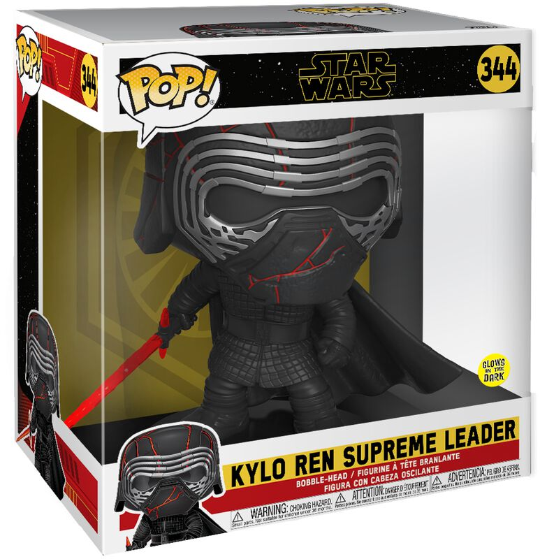Episode 9 -The Rise of Skywalker - Kylo Ren (GITD) (Life Size) Vinyl Figure 344 (figuuri)