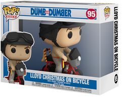 Lloyd Christmas On Bicycle (Pop! Rides) Vinyl Figure 95 (figuuri)