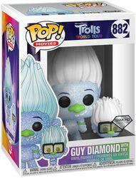World Tour - Guy Diamond with Tiny (Glitter) Vinyl Figure 882 (figuuri)