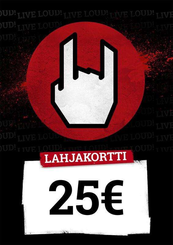Lahjakortti 25,00 EUR