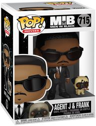 Agent J and Frank Vinyl Figure 715 (figuuri)