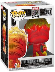 80th - The Original Human Torch Vinyl Figure 501 (figuuri)