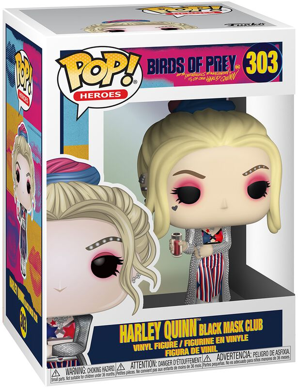 Harley Quinn Black Mask Club Vinyl Figure 303 (figuuri)