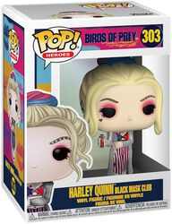 Harley Quinn Black Mask Club Vinyl Figure 303 (figuuri)