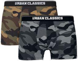 Camo Boxer Shorts - 2-kpl setti