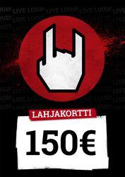 Lahjakortti 150,00 EUR